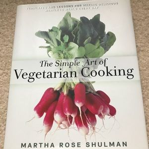 THE SIMPLE ART OF VEGETARIAN COOKING 🥦🌶🍆🥒🥬NWT